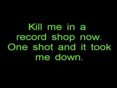 Música Kill me in a record shop
