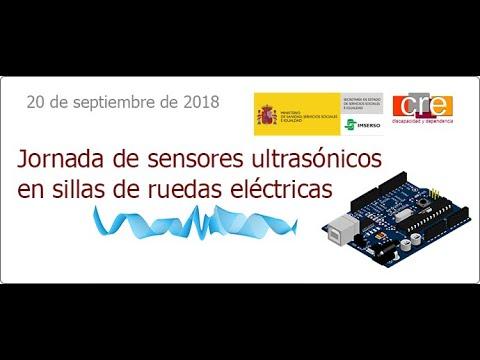 Jornada sensores ultrasónicos para sillas de ruedas