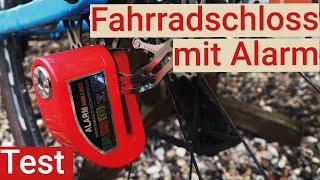 Bremsscheibenschloss mit Alarm: Mit diesem Fahrradschloss kriegt der Dieb was auf die Ohren