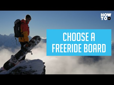 How to Choose a Freeride Snowboard | HOW TO XV