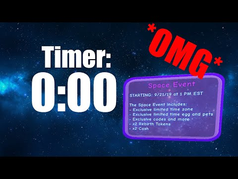 🚀SPACE EVENT STARTING NOW! 🧲LIVE COUNTDOWN AND GIVEAWAYS! (Magnet Simulator)