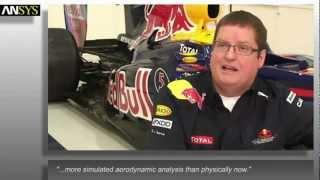 Grupo SSC. ANSYS. Red bull Racing Team Formula 1.