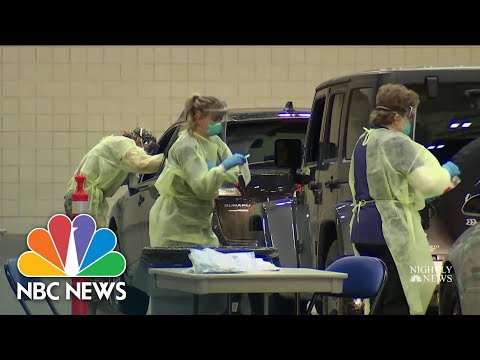 U.S. Records More Than 79,000 Covid-19 Cases In Single Day | NBC Nightly News