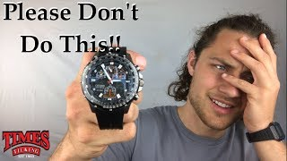 The #1 Most Harmful Mistake People Make With A Citizen Eco-Drive Watch
