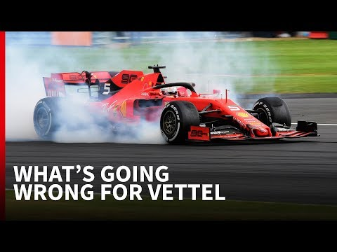How things are unravelling for Vettel in F1