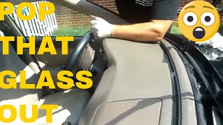 How To Install and Remove A Windshield