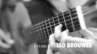 Etude No 8 by Leo Brouwer || ABRSM Guitar Grade 4 List C No.3