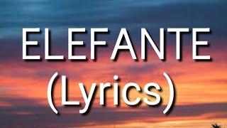 NK - ELEFANTE (Lyrics) •|