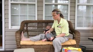 Pediatric PT #17  Teaching a Baby to Get into Sitting