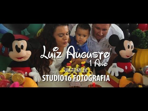 ANIVERSÁRIO INFANTIL - LUIZ AUGUSTO 1 ANO