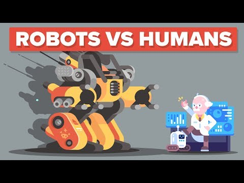 Which Jobs Should You Avoid Because Robots Will Take Them First