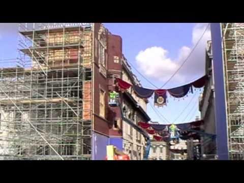 Pirates of the Caribbean 4 On Stranger Tides film movie set POTC 4 Greenwich London