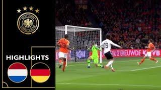 Achterbahnfahrt Mit Happy End | Niederlande - Deutschland 2:3 | Highlights | EM-Qualifikation