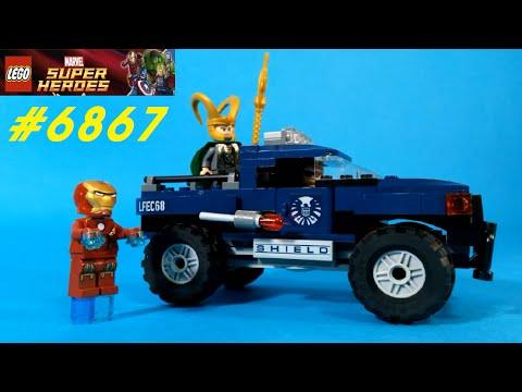 Vidéo LEGO Marvel Super Heroes 6867 : L'évasion de Loki