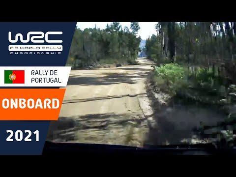 エバンスのオンボード映像 WRC 2021 第4戦ラリー・ポルトガル