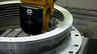 CNC milling machine 5 axis machining center aerospace
