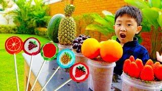 [30분] 예준이와 아빠의 장난감 가게놀이 과일 아이스크림 햄버거 마트놀이 전동 자동차 ICE CREAM Store Food Toy Video for Kids