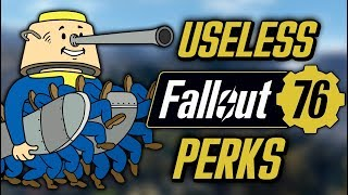 7 Most Useless Perks in Fallout 76