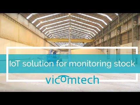 Improved Iot Solution for monitoring temperature and stock in port biomass storage