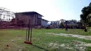 preview picture of video '11th December'14 Playing CRICKET MATCh with our street boys{DURGA MOM CHARITY VIDEO}-4'