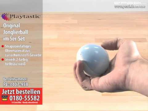 Playtastic Original Jonglierball im 5er-Set