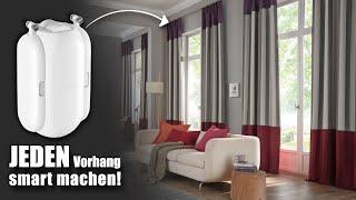 JEDEN Vorhang smart machen (unter 5 Minuten) - SwitchBot Curtain Review   Venix