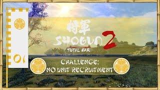 Let's Play Total War: Shogun 2 (Challenge: No Unit Recruitment) - Tokugawa - Ep.01 - Bribes!