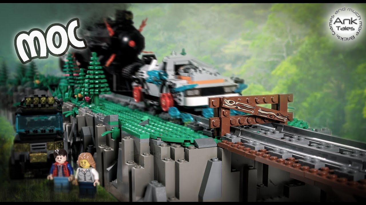 LEGO Back To The Future MOC - Western Train Time Machine