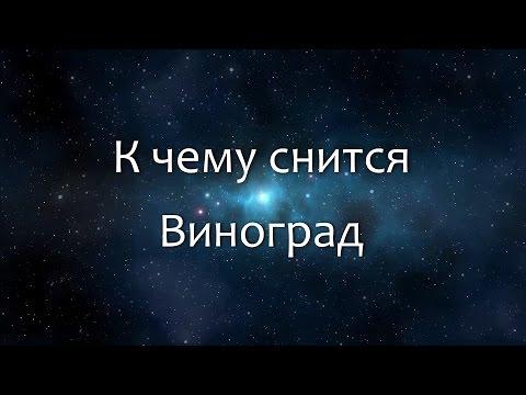К чему снится Виноград (Сонник, Толкование снов)