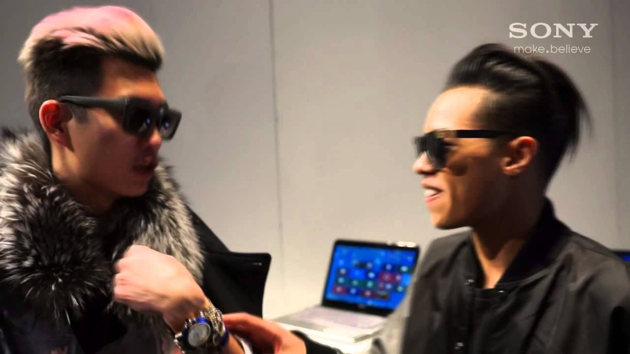 Chatting with Jay Strut and SONY at World MasterCard Fashion Week