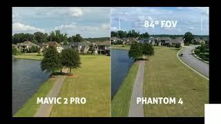 Dji Mavic 2 pro vs Phantom 4 pro 2.0 short video comparison