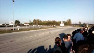 preview picture of video 'Tončijeva vožnja - Twin drift 04.10.2009'