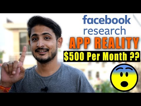 Facebook Research App Giving $1000 Per Month ?? Exposed 🔥🔥