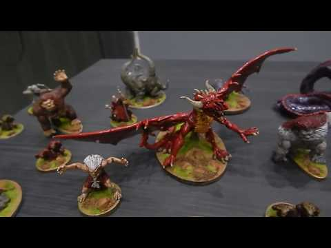 Descent - Journeys in the Dark 1st edition painted minis