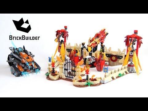 Vidéo LEGO Chima 70146 : Le temple du Phoenix de Feu