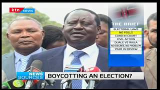 News Sources: CORD tempt a boycott as numbers Tyranny pushes for change in Parliament, 22/12/16 Pt 1