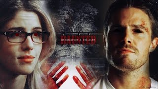 Dark!Oliver & Felicity • Haunted Pt.II