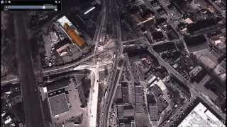 preview picture of video 'Zmieniający sie Włocławek - Google Earth'
