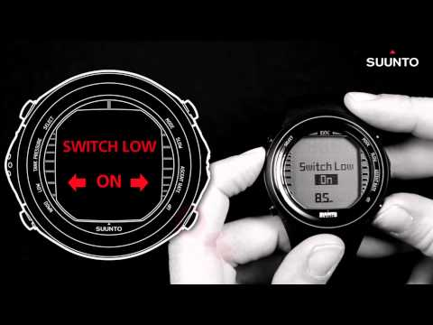 Suunto DX - How to use set points