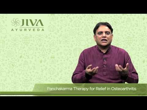 Panchakarma Therapy for Relief in Osteoarthritis