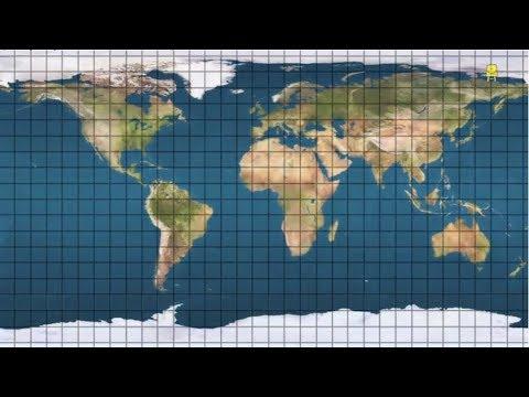 Map Introduction /नक्शे पर जगहों को ढूंढना