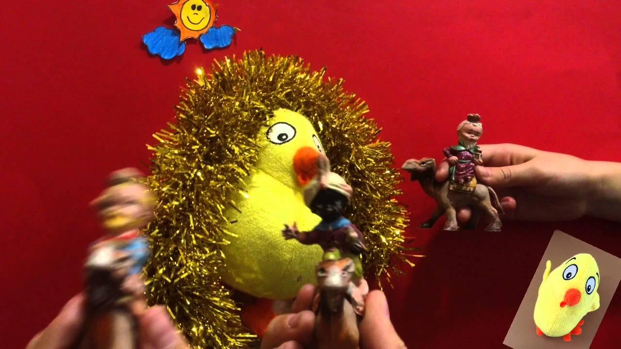 El Pollo Pepe canta un villancico con los Reyes Magos