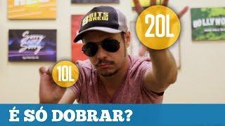 Receita de 10L para fazer 20L é só DOBRAR? #RespondeFácil 01