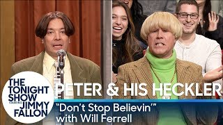"Peter and His Heckler - ""Don't Stop Believin'"" (with Will Ferrell)"