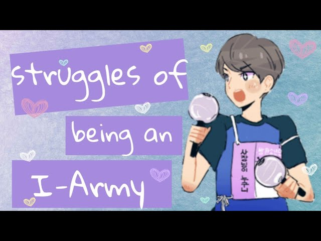 Struggles of being an International ARMY