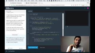 Codecademy - Python: Tutorial #19