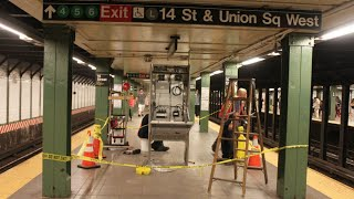 Man Charged With Pushing Woman Onto Subway Tracks in Manhattan   NBC New York