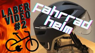 Laber Video #2 Thema: Abus Pedelec 2.0 ACE Fahrradhelm für Pedelec und S-Pedelec plus Erfahrungswert