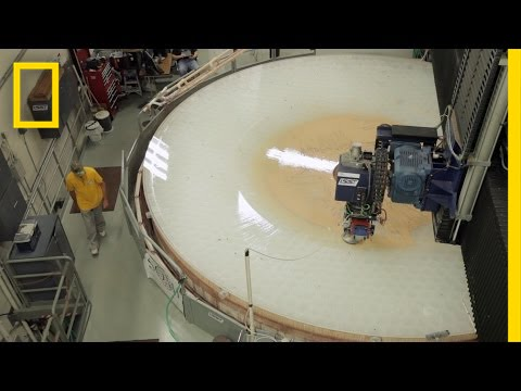 Go Inside a Telescope Mirror Factory | To a Billionth of a Meter thumbnail