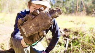 Digging For Antique Bottles In Australia!